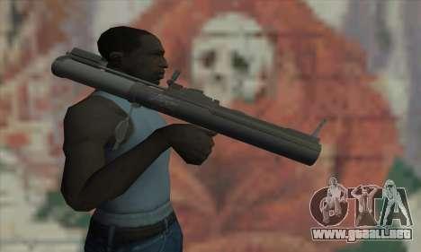 M72 LAW para GTA San Andreas tercera pantalla