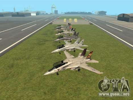 F-14 Tomcat HQ para GTA San Andreas left