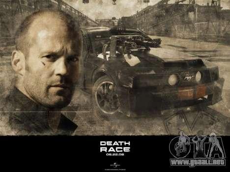 Inicio de las pantallas de la Carrera de la Muer para GTA San Andreas