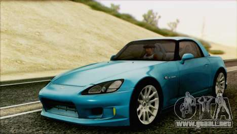 Honda S2000 Daily para GTA San Andreas left