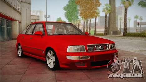 Audi 80 B4 RS2 para GTA San Andreas