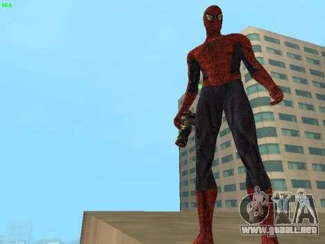 Hombre araña para GTA San Andreas tercera pantalla