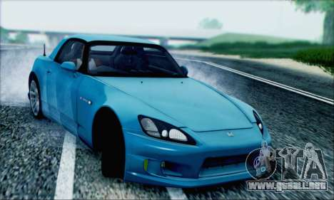 Honda S2000 Daily para vista lateral GTA San Andreas