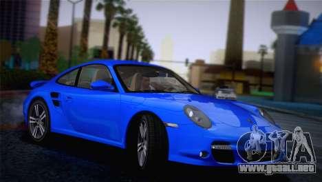 Porsche 911 Turbo Bi-Color para GTA San Andreas left