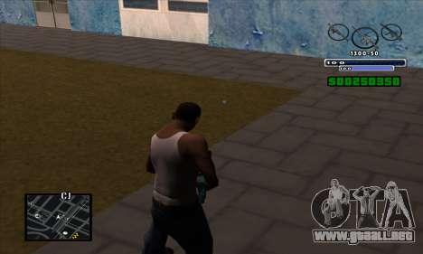 C-HUD para GTA San Andreas segunda pantalla