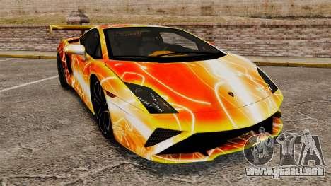Lamborghini Gallardo 2013 Red Light para GTA 4