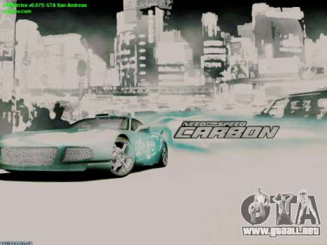 Loading Screens NFS para GTA San Andreas segunda pantalla