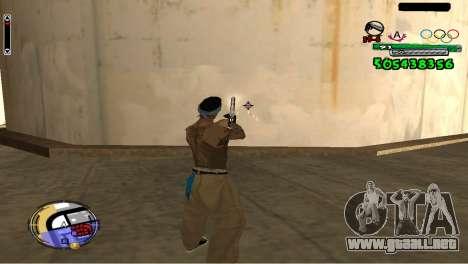 C-HUD By Fedya para GTA San Andreas tercera pantalla