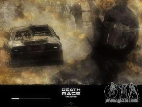 Inicio de las pantallas de la Carrera de la Muer para GTA San Andreas sexta pantalla