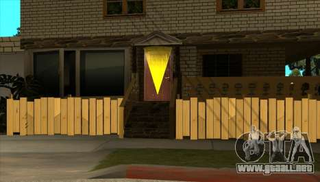Moderna casa de Sijia v1.0 para GTA San Andreas segunda pantalla
