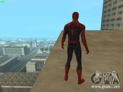 Hombre araña para GTA San Andreas quinta pantalla