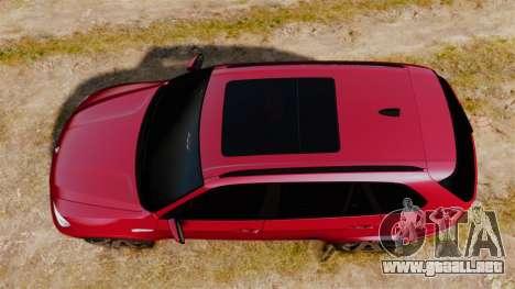 BMW X5M v2.0 para GTA 4 visión correcta