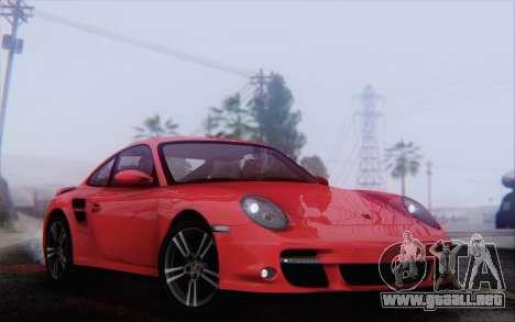 Porsche 911 Turbo para vista lateral GTA San Andreas