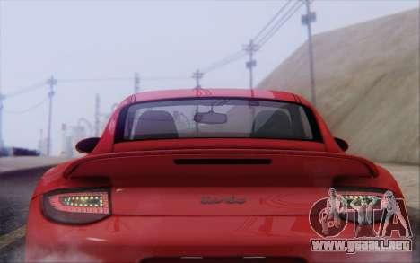 Porsche 911 Turbo para el motor de GTA San Andreas