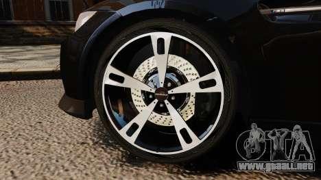 BMW M3 E92 AC Schnitzer ACS3-Sport para GTA 4 vista hacia atrás