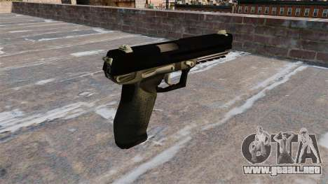Bauer 1980 SOCOM pistola para GTA 4 segundos de pantalla