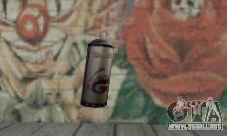 Montana Gold Spray para GTA San Andreas