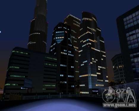ENB para PC débil para GTA San Andreas quinta pantalla