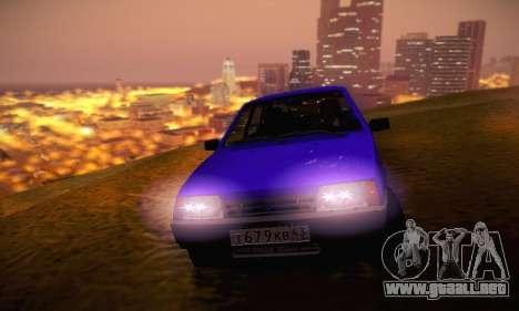 VAZ 21099 para GTA San Andreas interior