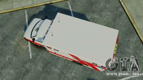 Brute Luxaid Ambulance [ELS] para GTA 4 visión correcta