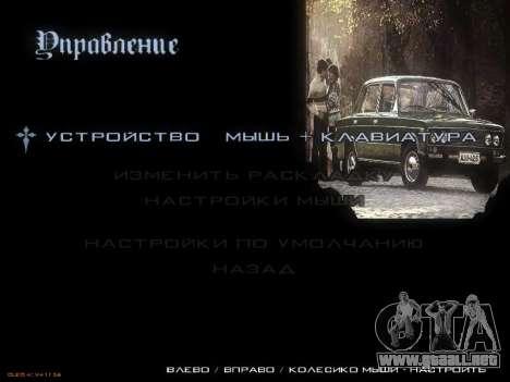 Menú de coches Soviéticos para GTA San Andreas novena de pantalla