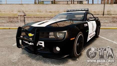 Chevrolet Camaro Police [ELS-EPM] para GTA 4