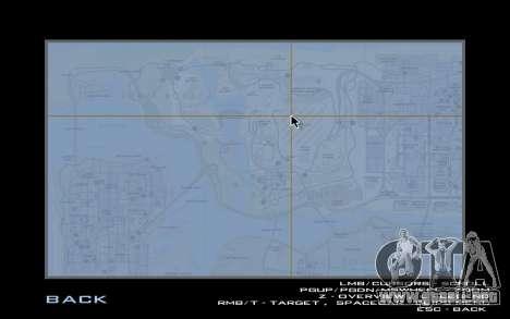 HQ Radar by Rockstar para GTA San Andreas tercera pantalla