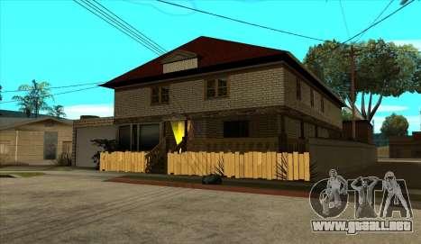 Moderna casa de Sijia v1.0 para GTA San Andreas