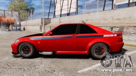 Sultan R-S para GTA 4 left