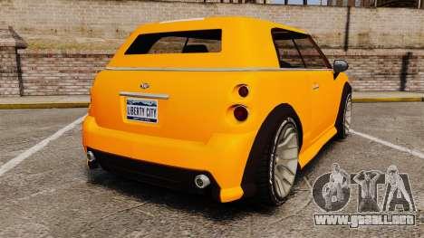 GTA V Weeny Issi para GTA 4 Vista posterior izquierda