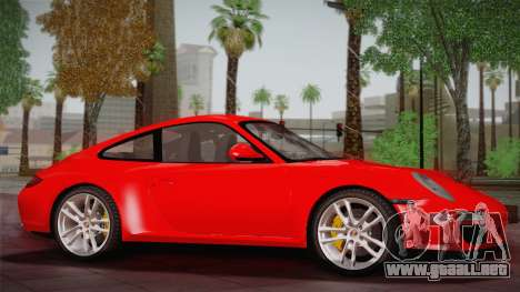Porsche 911 Carrera para GTA San Andreas left