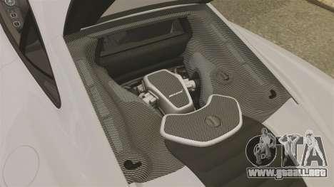 McLaren MP4-12C 2012 [EPM] para GTA 4 vista interior