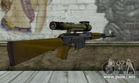 M76 para GTA San Andreas segunda pantalla