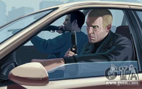 Inicio pantallas de GTA IV para GTA 4 tercera pantalla