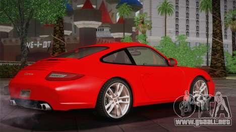 Porsche 911 Carrera para GTA San Andreas vista posterior izquierda