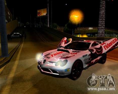 ENB para PC débil para GTA San Andreas