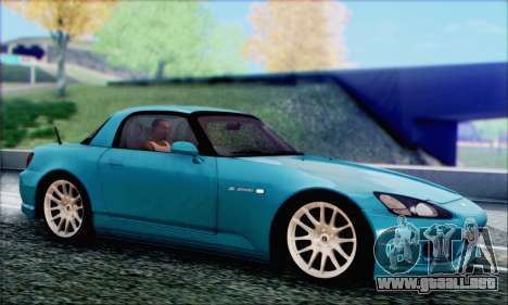 Honda S2000 Daily para la vista superior GTA San Andreas