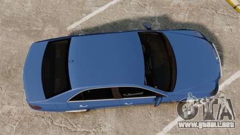Mercedes-Benz E63 AMG 2014 para GTA 4 visión correcta