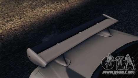 Nissan Skyline GT-R R34 V-Spec Lexani Rims para la visión correcta GTA San Andreas