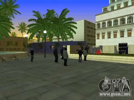 La Película del concierto para GTA San Andreas segunda pantalla