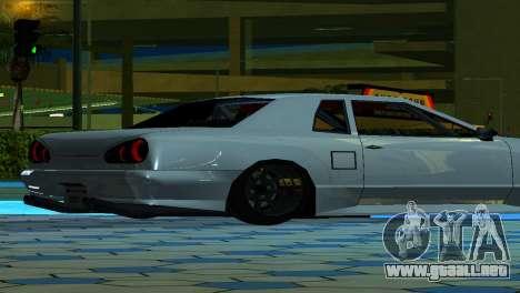 Elegy 280sx v2.0 para GTA San Andreas vista hacia atrás