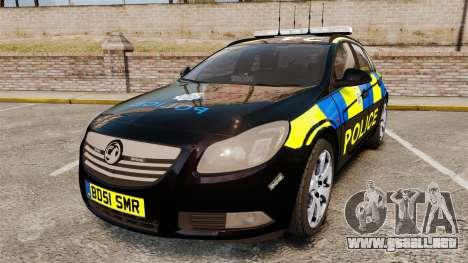 Vauxhall Insignia Sports Tourer Police [ELS] para GTA 4