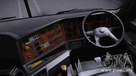 Freightliner Argosy 8x4 para GTA San Andreas vista posterior izquierda