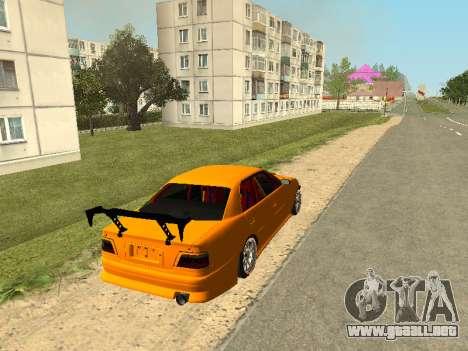 Toyota Сhaser para GTA San Andreas vista posterior izquierda