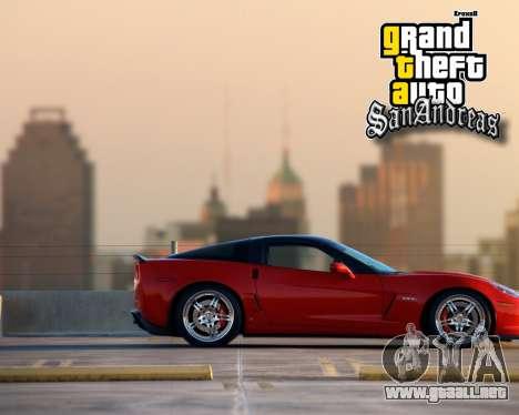 Nuevas pantallas de inicio para GTA San Andreas sexta pantalla