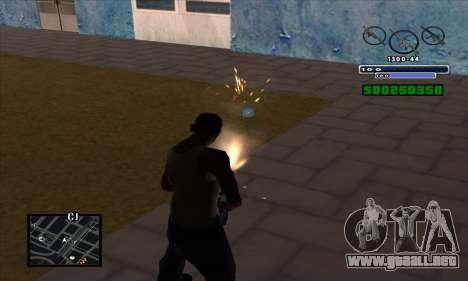 C-HUD para GTA San Andreas tercera pantalla