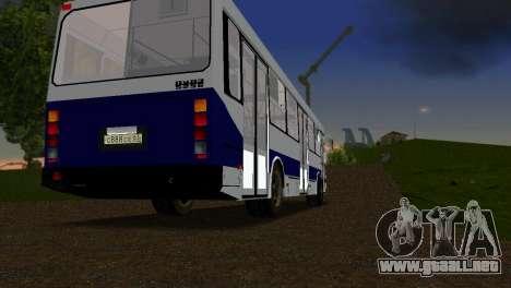 LIAZ-5256 para GTA Vice City visión correcta