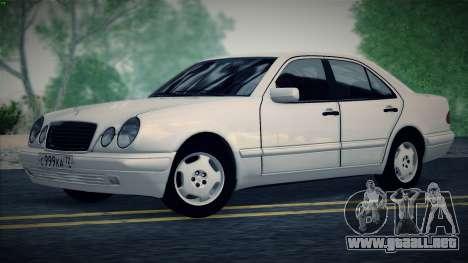 Mercedes-Benz E420 para la visión correcta GTA San Andreas
