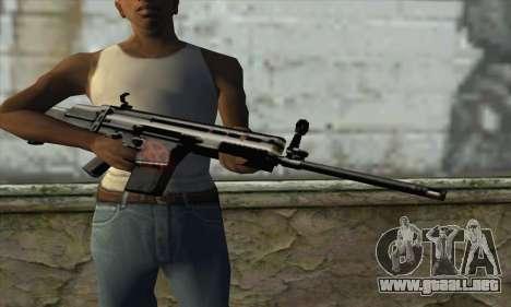 Rifle para GTA San Andreas tercera pantalla