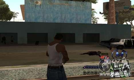 HUD by Anatole para GTA San Andreas segunda pantalla